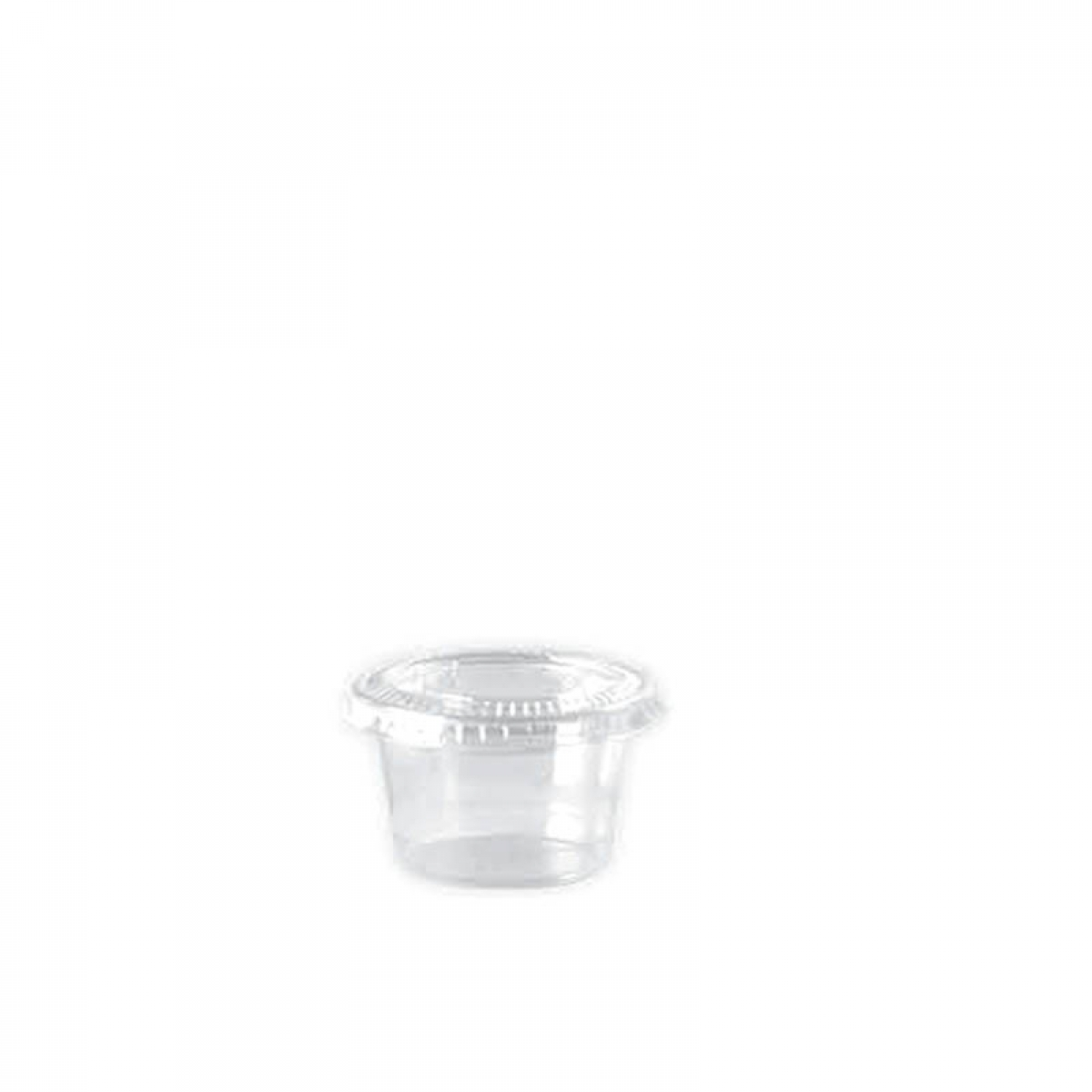 souffle container with clear lid 45*24