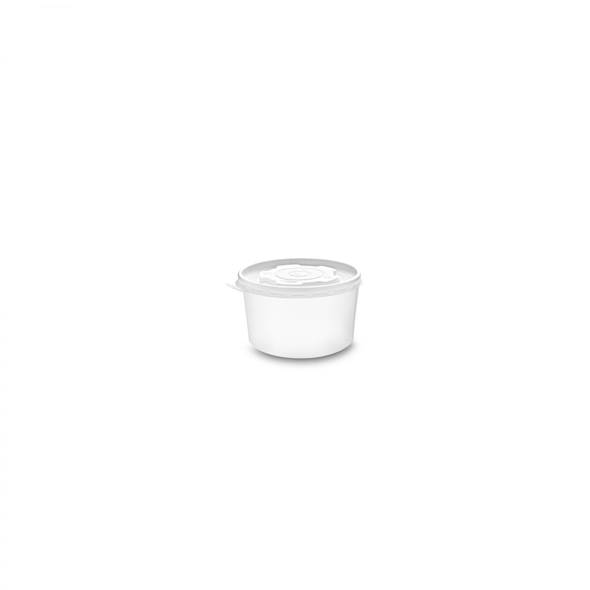 SOUFFLE CUPS (PET) 4 OZ W/LID