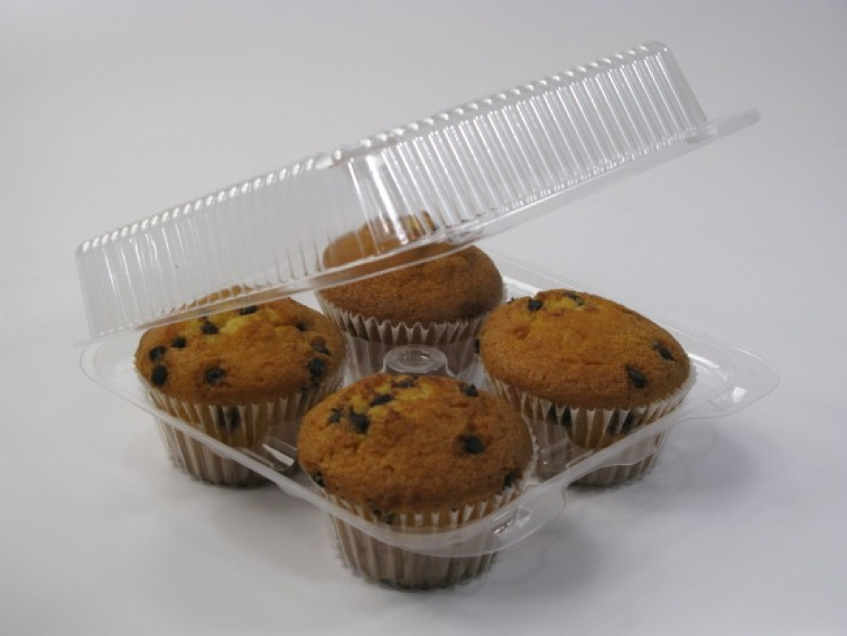 clear plastic cake cups 4 cups  165*165*80