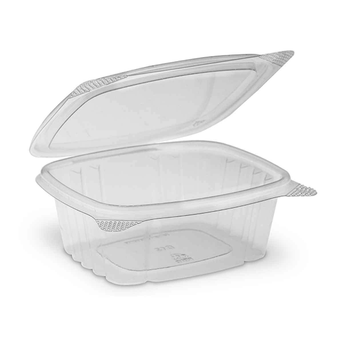 oval hinged container with lid 250 / 140*110 / 40