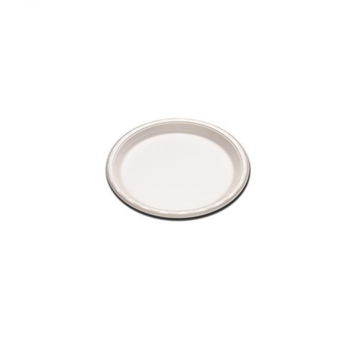 plain foam plate 6 inch