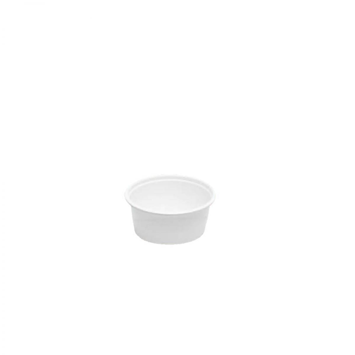 plastic tub (white) 250 cc / 113*4 W/LID