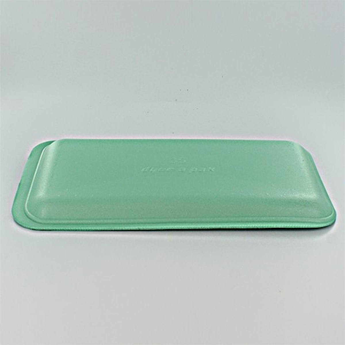 foam tray (green) 216*152*20