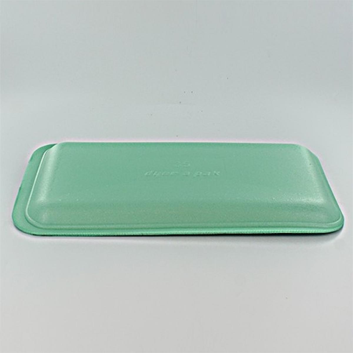 foam tray (green) 216*152*20