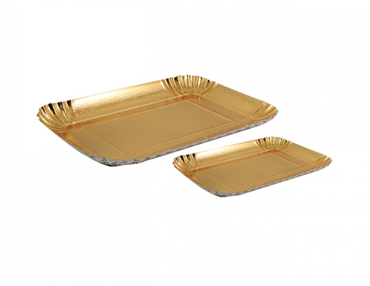 carton tray  (golden) 17.5*12.5