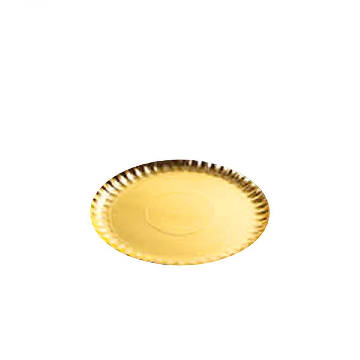 round carton tray (golden) 26