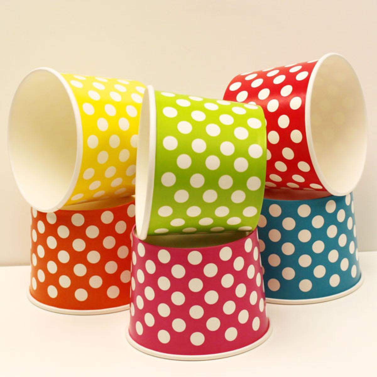 ice cream paper cup 4 oz / 75*48