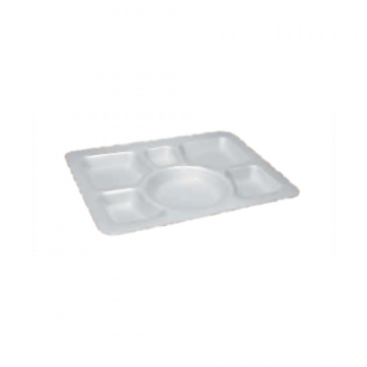 foam meal tray 6 sec / 300*307*30