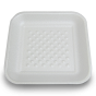 foam tray (white) small / 165*147*25