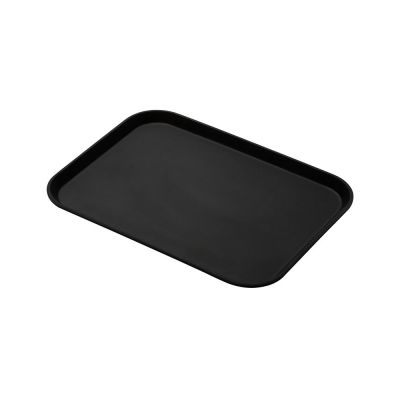 Black foam tray