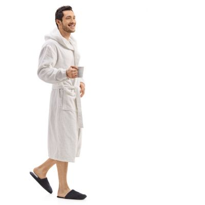 Cotton Terry Bathrobe