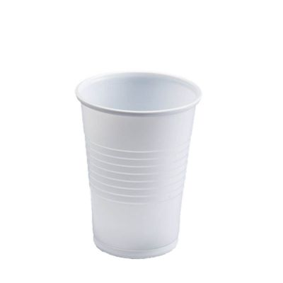 plastic cup (white)
