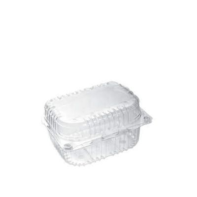 clear hinged putten container