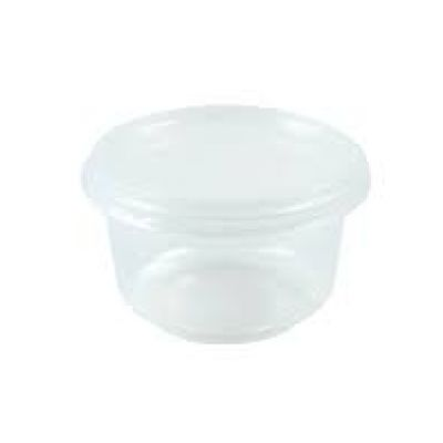 clear pudding container with lid
